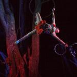 Aerial performer, Danuta Ramos