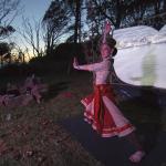 Bharatanatyam dancer, Kirsten Newell